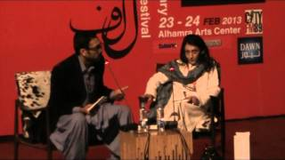 Manto - Ayesha Jalal with Ali Sethi at LLF 2013 Part 1