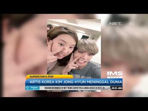 Artis Korea Kim Jong-Hyun Meninggal Dunia