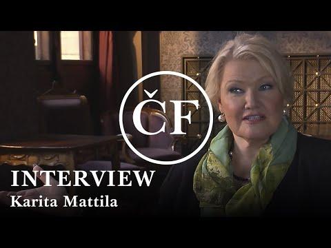 Karita Mattila: interview (Česká filharmonie / Czech Philharmonic)