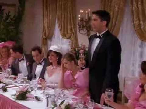 friends tv show funny la wedding band scene youtube
