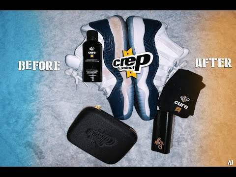 HOW TO CLEAN JORDANS WITH CREP PROTECT!! **INSTANT RESULTS** (EASIEST WAY)