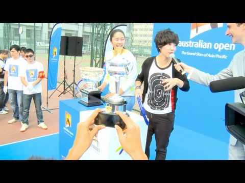 Trophy Tour - Wuhan part one: Australian Open 2012