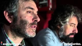"""IndieGentesTV 2013 - LA HABITACIÓN ROJA + SR. CHINARRO - Entrevista + """"Quiromántico"""" @Apolo [BCN]"""