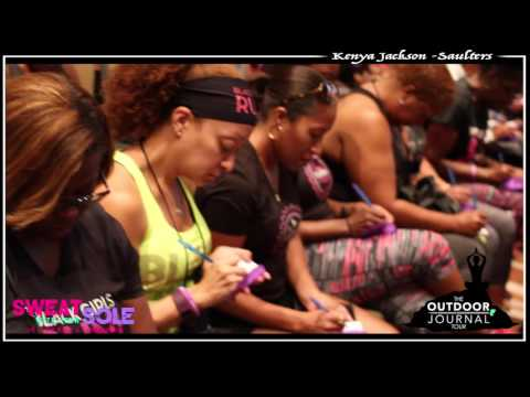 Kenya Jackson-Saulters Outdoor Journal Tour; Sweat With Your Sole