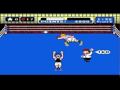 Mike Tyson's Punch Out||Little Mac vs Glass Joe - YouTube