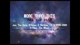 More Than This - The Cure (JTD) (letra + subtítulos en español - lyric + spanish subtitles