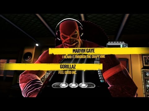 DJ Hero - I Heard It Through The Grapevine VS Feel Good Inc. 100% FC [Hard]