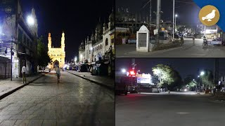 Night Curfew: Old City roads w…