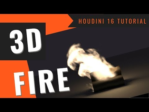 Learn How to Create Realistic 3D Fire in Houdini 16