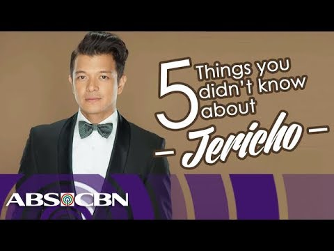 5 things you should know about Jericho Rosales