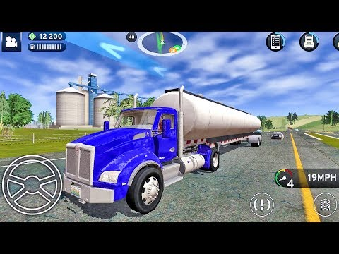 Truck Simulation 19 - Truck Games Android IOS gameplay