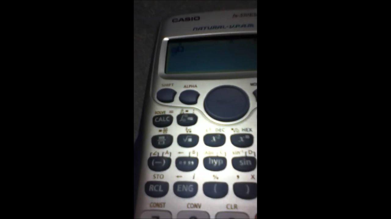 Come si calcola la percentuale sulla calcolatrice ...