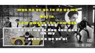 Call Me Baby - EXO (Karaoke/Instrumental)