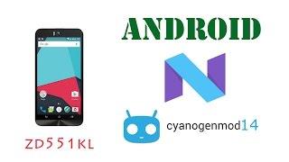 Upgrade Asus Zenfone Selfie to Android 7.1 CM14