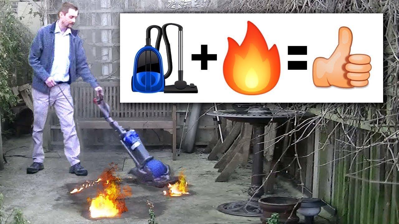 Süpürerek Ateş Söndürmek - Saçma Ama Dahiyane Fikirler
