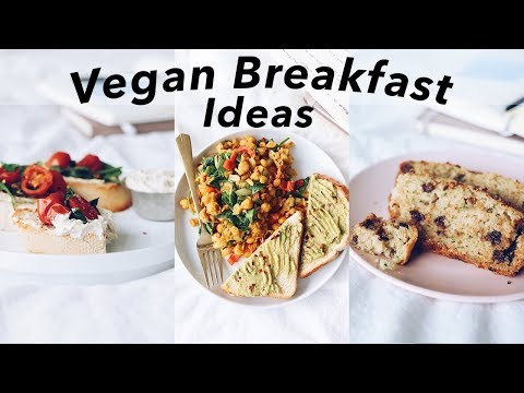 Vegan Breakfast Ideas (that aren't oatmeal or smoothies)
