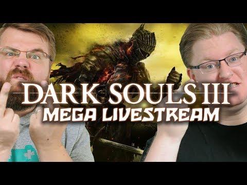 Dark Souls 3 Mega Livestream mit Peter & Chris