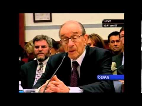 Ayn Rand-admirer Alan Greenspan admits he was wrong about deregulation