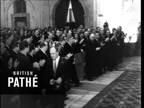 Czech President Novotny (1964)