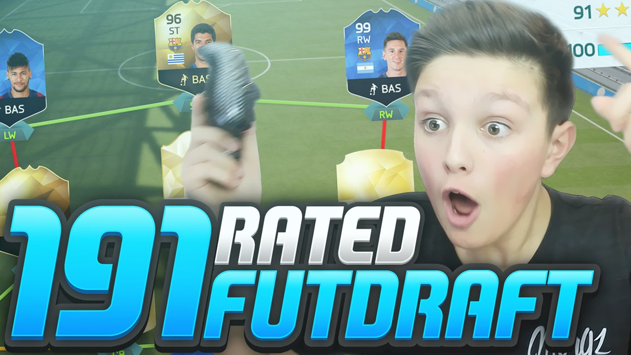 191 Rated Impossible Fut Draft Challenge Fifa 16