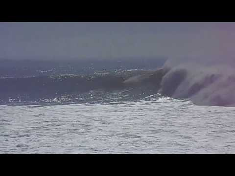 Hercules Big Wave Surfing Anchor Point Morocco 7 January 2014