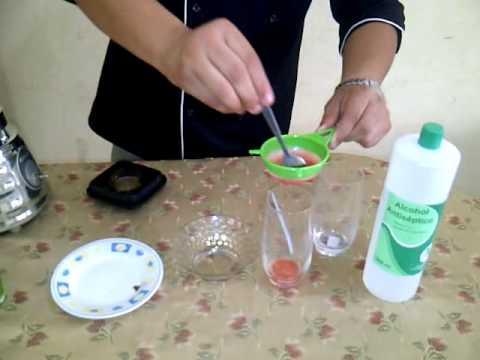 Extraccion del ADN de la fresa
