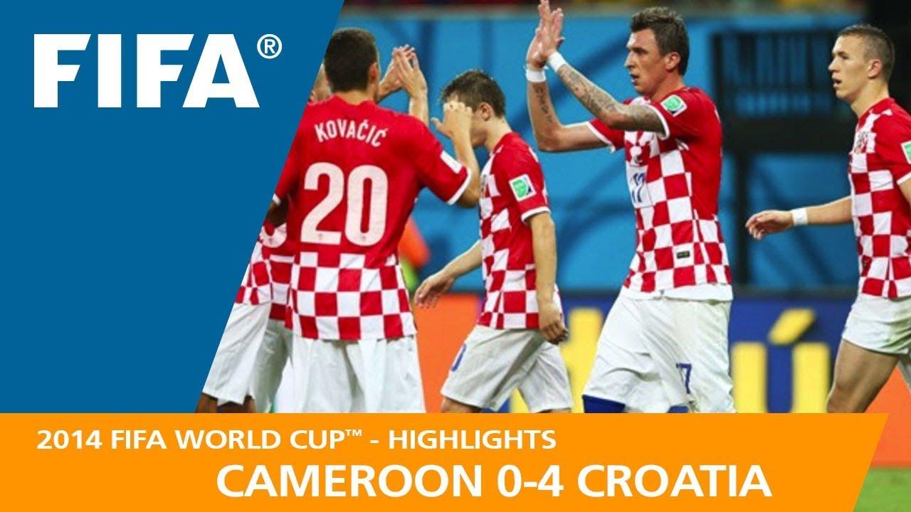 pretty nice 7af5c 29a14 CAMEROON v CROATIA (0:4) - 2014 FIFA World Cup™