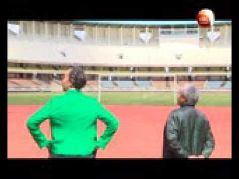 First Lady inspects sporting facilities ahead of IAAF championships