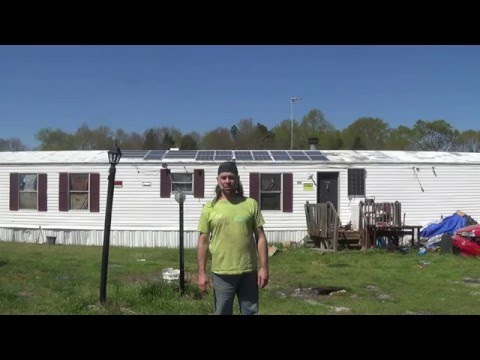 Solar powered home,  March 2016