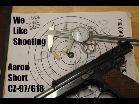 We Like Shooting Shoot out : Aaron Short Cz-97 and Maybe a G18