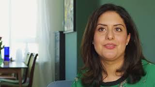 Setareh Ancery-Foumani (33) heeft moeilijk behandelbaar astma