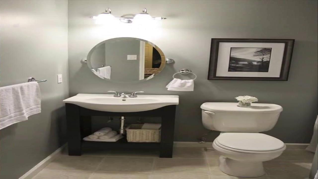 Basement Bathroom Ideas On A Budget YouTube - Basement bathroom ideas on a budget
