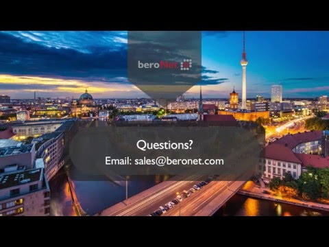 How to build a VoIP system using the beroNet Telephony Appli