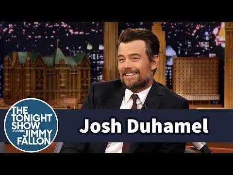 Josh Duhamel Shares Adventures in Potty Training