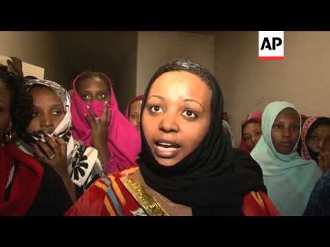 African migrants talk about trying to get to Europe to start new lives