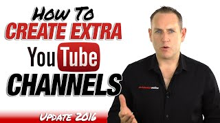 How To Add A YouTube Channel to your YouTube Account