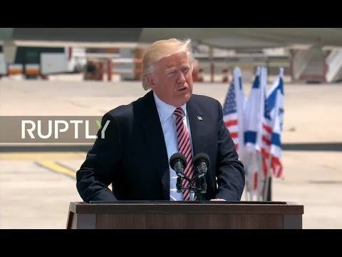 LIVE: Trump arrives in Israel during first overseas trip as president