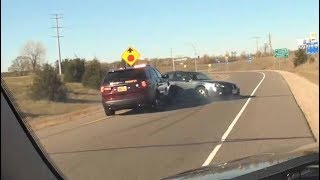 St. Cloud, MN Police Chase Ends in PIT Maneuver (10/23/2018)