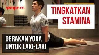 10 Gerakan Yoga Bagi Pria