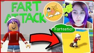 Qu'est-ce que ce jeu?! | Roblox FART ATTACK! Jeux RadioJH