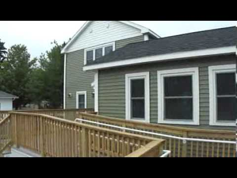 Great Falls Constuciton Maine build the Energy Efficient home at 7 Riverview St Sanford Maine