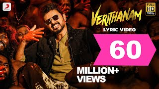 The biggest single of year arrives! make way for complete #verithanam packed with all things mass! #thalapathyvijay crooning #arrahman #at...