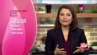 'Melek' 24 OCAK 2015 - Ayça Kaya'nın 1 Haftalık Diyet Listesi