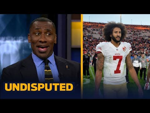Ray Lewis says Kap's girlfriend's 'racist' tweet is why Baltimore didn't sign him | UNDISPUTED