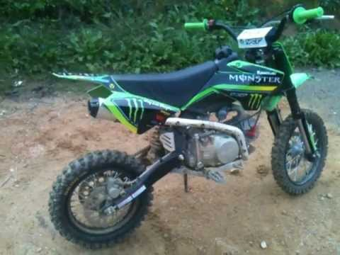 ma dirt bike 125cc monster energy youtube. Black Bedroom Furniture Sets. Home Design Ideas