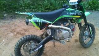 Ma Dirt Bike 125cc - Monster energy