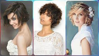 Top 20 🌷 acconciature per matrimonio capelli corti
