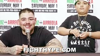 ANDY RUIZ RESPONDS TO LUIS ORTIZ SCOUTING HIM NEXT; SMILES & SAYS READY TO FIGHT IN 2 OR 3 MONTHS