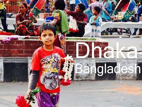 Place where you fix roads with a stick - Dhaka (Bangladesh)   Travel Vlog #19