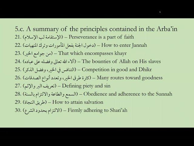 Al-Arba'in al-Nawawiyyah Hadith 1.1 || Shaykh Nafis